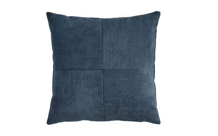 Kissenhülle Count in dunkelblau, 40 x 40 cm