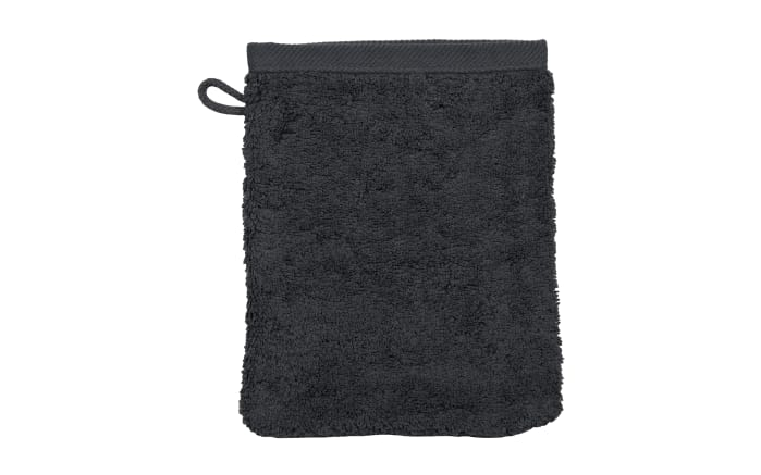 Waschhandschuh Vita in graphit