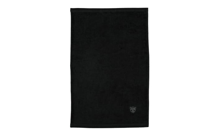Gästetuch Vita in graphit, 30 x 50 cm