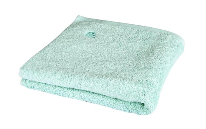 Handtuch Vita in mint, 50 x 100 cm