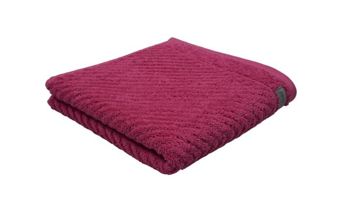 Handtuch Smart in fuchsia, 50 x 100 cm