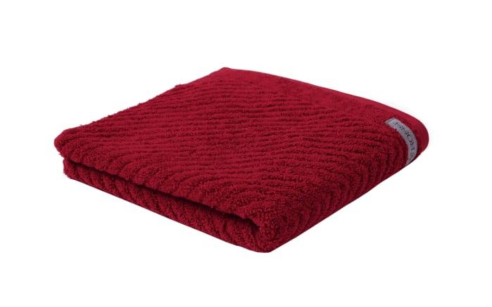 Handtuch Smart in marsala, 50 x 100 cm