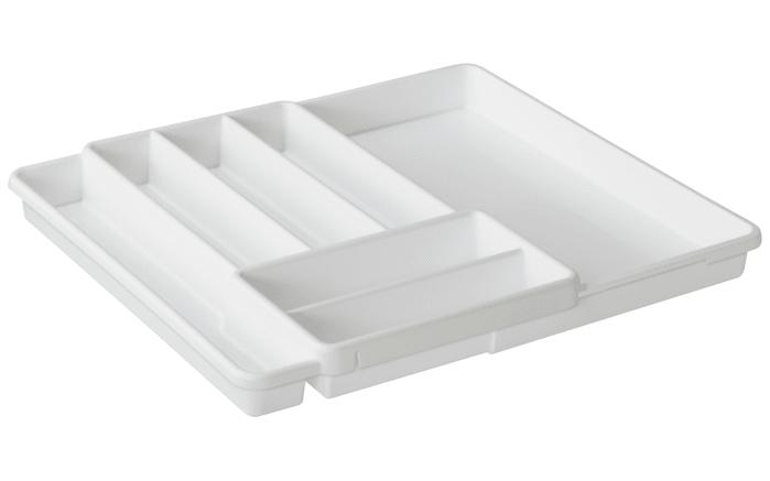 Besteckkasten Domino in weiß