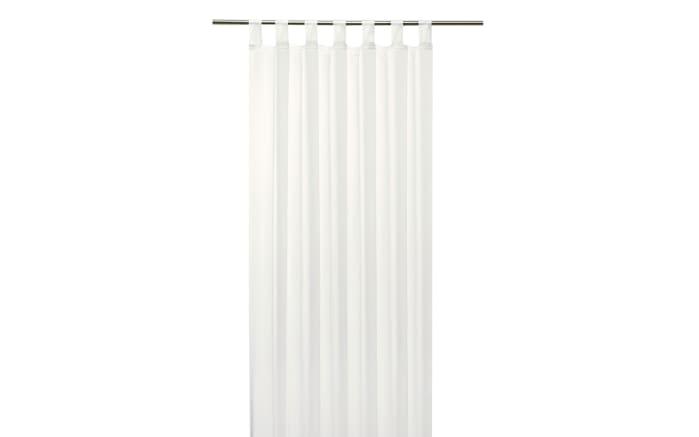 Schlaufenschal Sambia Light in weiß, 140 x 245 cm