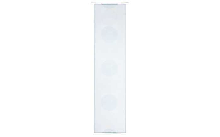 Schiebevorhang Sorento in aqua, 60 x 245 cm