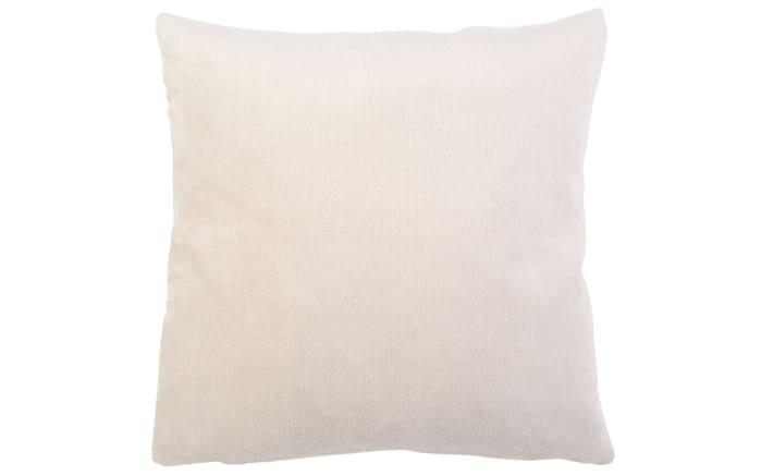 Kissenhülle Muri in weiß, 40 x 40 cm