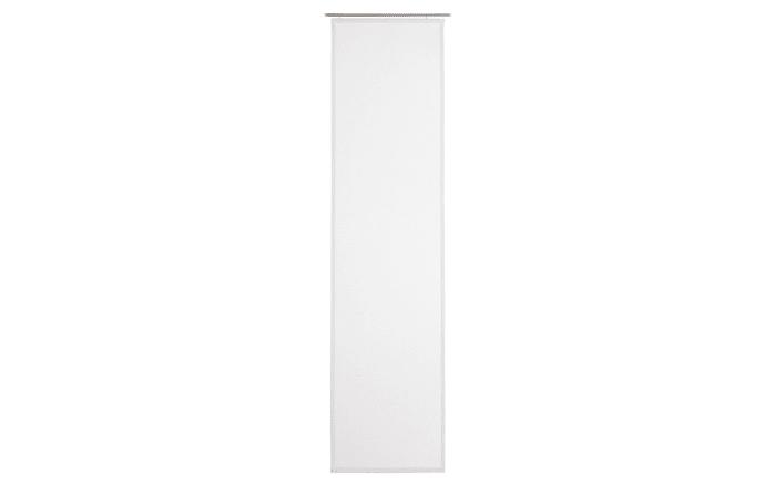 Schiebevorhang Peru in weiß, 60 x 245 cm