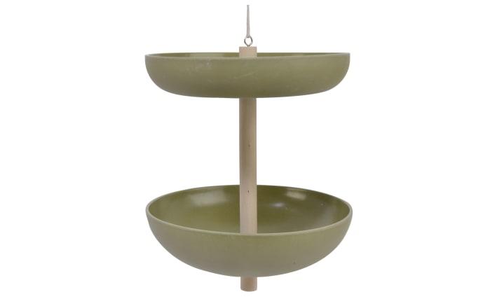 Vogeltränke in grün, 20 x 23 cm