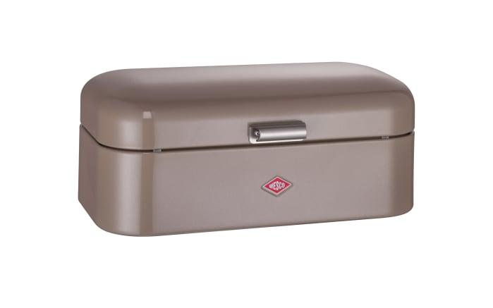 Brotbox Grandy in grau-braun
