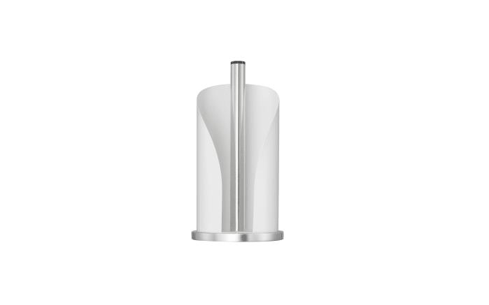 Küchenrollenhalter in matt weiß