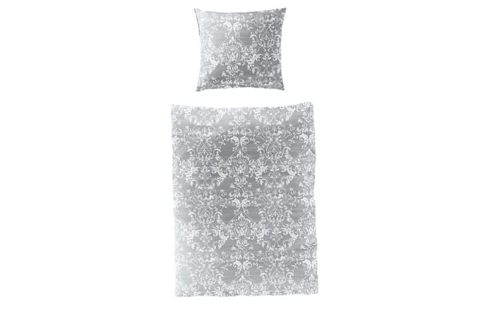 Bettwäsche Mako Satin In Silber 135 X 200 Cm Online Bei Hardeck Kaufen