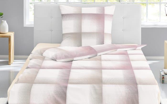 Mako Satin Bettwäsche In Rosa 135 X 200 Cm Online Bei Hardeck Kaufen
