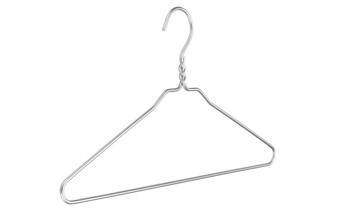 Dielenbügel Dry Cleaner in Silberoptik