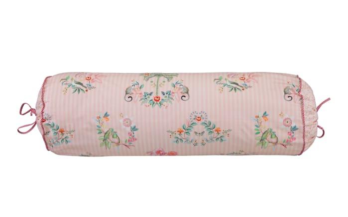 Nackenrolle rosa Boasin in rosa, 22 x 70 cm