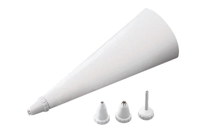 Spritzbeutel-Set Patisserie in weiß