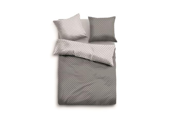 Tom Tailor Satin Bettwäsche In Grauweiß 135 X 200 Cm Online Bei