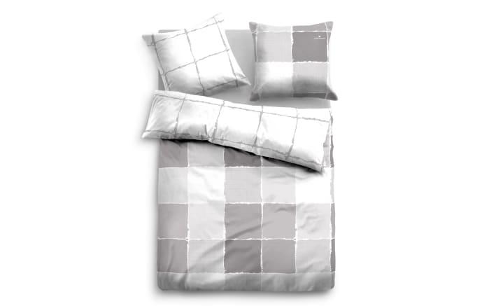 Bettwäsche Tom Tailor Linon in grey, 135 x 200 cm