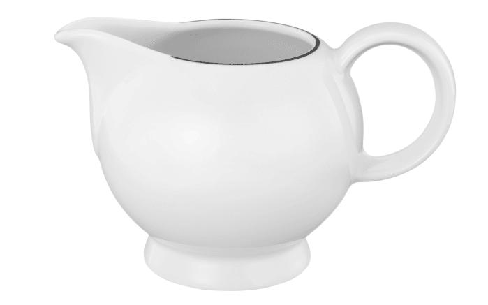 Milchkännchen Lido Black Line in weiß, 0,23 l