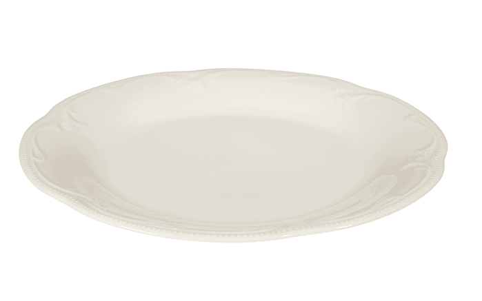 Speiseteller Rubin Cream in creme, 25 cm