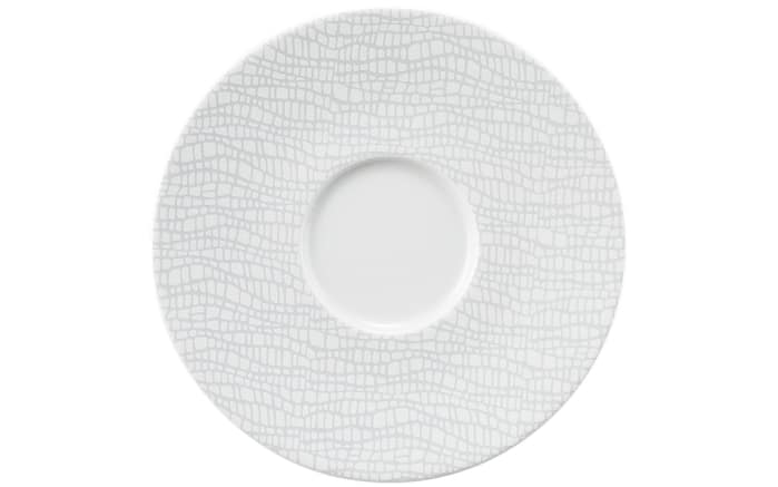 Kaffeeuntertasse Life Elegant Grey, 16,5 cm