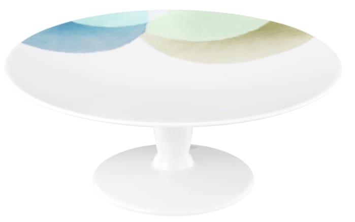 servierplatte mit standfu life senja in wei 22 5 cm online bei hardeck kaufen. Black Bedroom Furniture Sets. Home Design Ideas