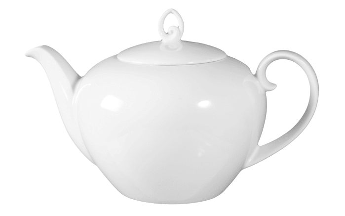 Teekanne Rondo Liane in weiß, 1,2 l