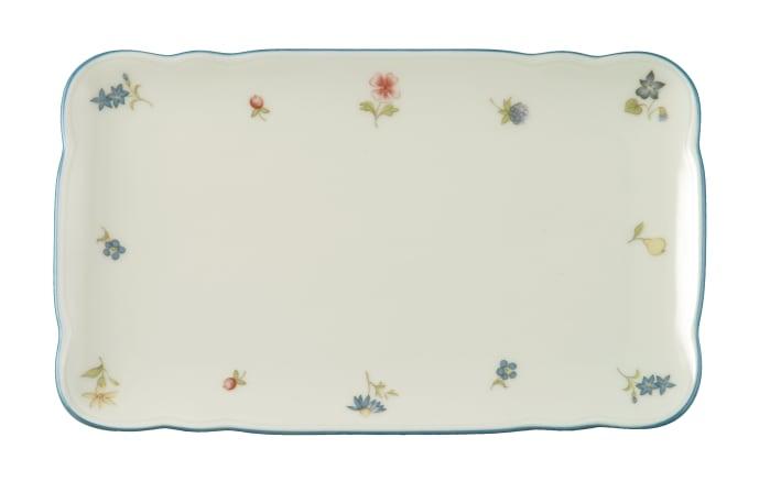 Butterplatte Marie Luise Streublume in elfenbein, 20 cm