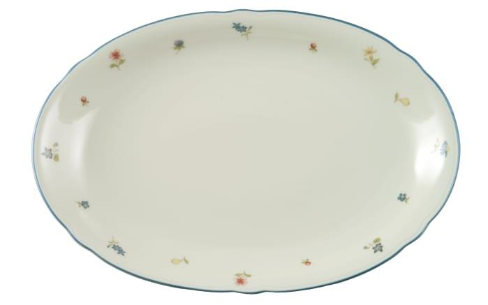 Platte Marie Luise Streublume in elfenbein, 31 cm