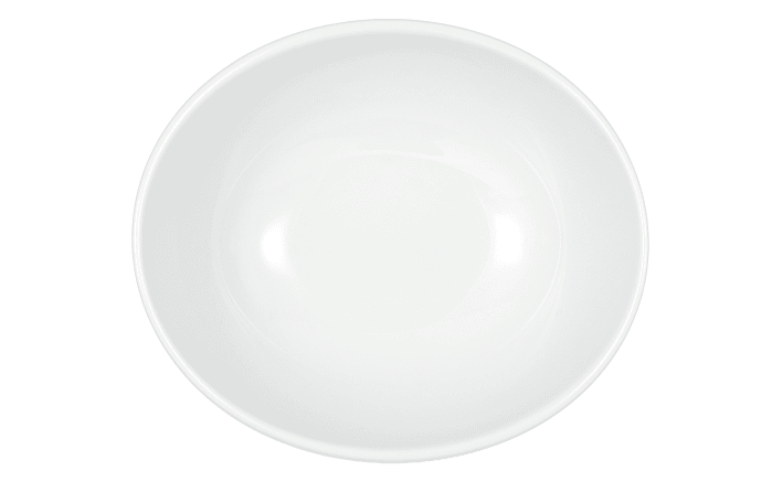 Suppenbowl Modern Life in weiß/oval, 16 cm