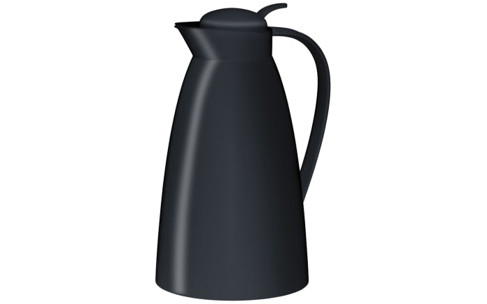Isolierkanne Eco in schwarz, 1,0 l