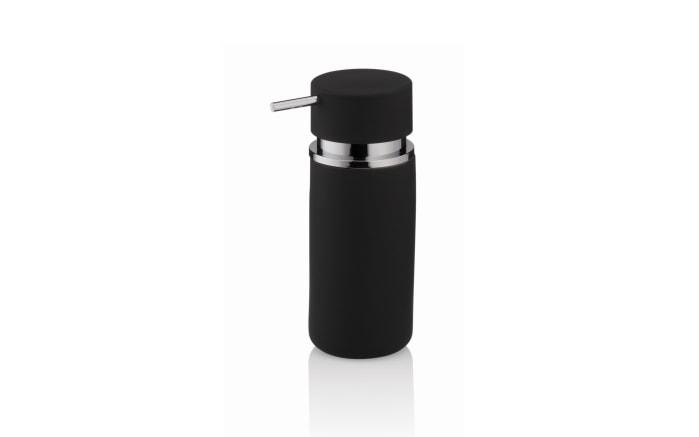 Seifenspender Per in schwarz, 16,5 cm
