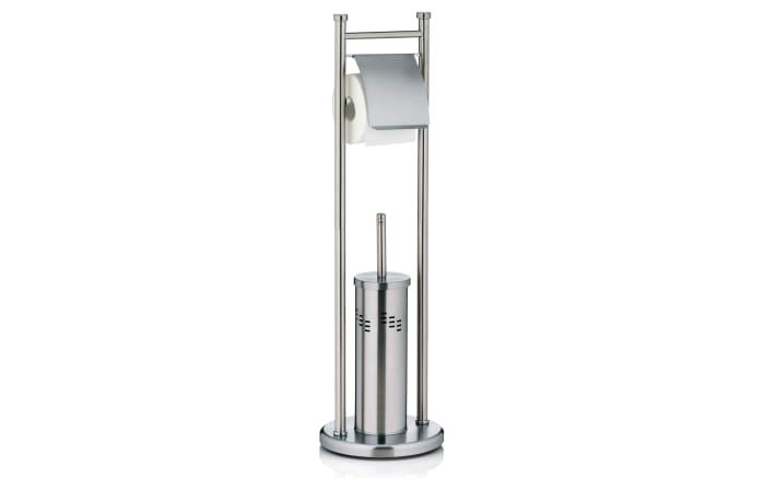 Toilettengarnitur Swing aus Edelstahl