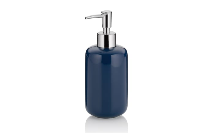 Seifenspender Isabella in indigoblau, 400 ml