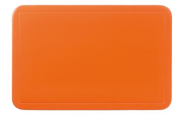 Tischset Uni in orange, 28.5 x 43.5 cm
