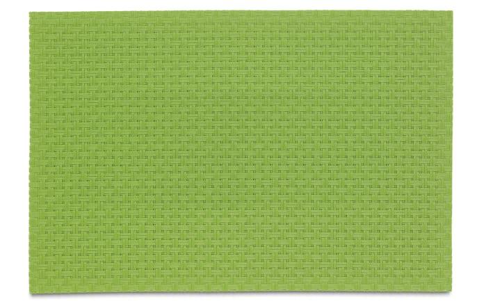 Tischset Plato in grün, 45 x 30 cm