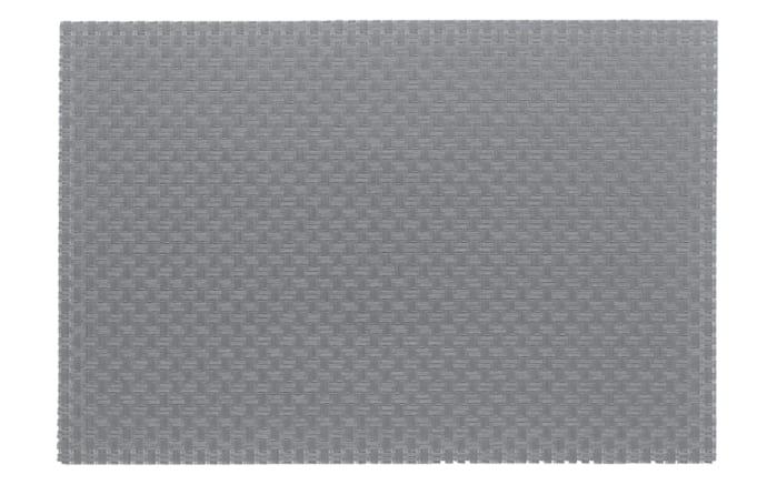 Tischset Plato in hellgrau, 45 x 30 cm
