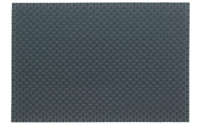 Tischset Plato in grau, 45 x 30 cm