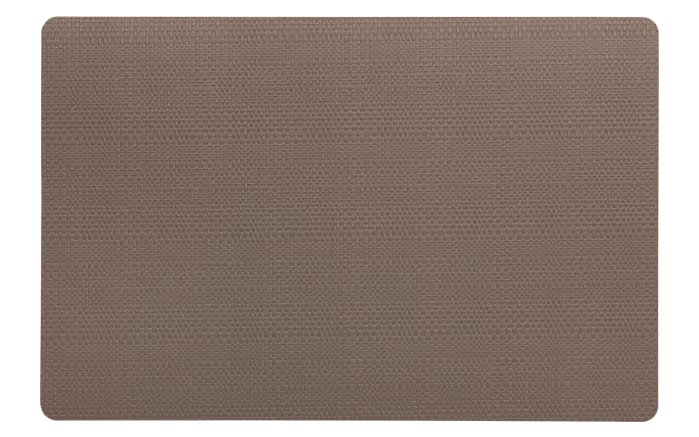 Tisch-Set Calina in taupe, 28,5 x 43,5 cm