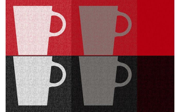 Tischset Mit Tassen In Rot 28 5 X 43 5 Cm Online Bei Hardeck Kaufen