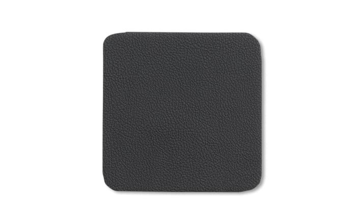 Glas-Untersetzer Kimara in schwarz