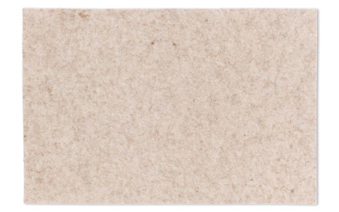 Tischset Alia in beige, 30 x 45 cm