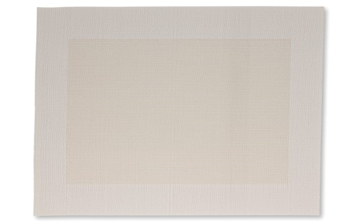 Tischset Nicoletta in creme, 33 x 46 cm