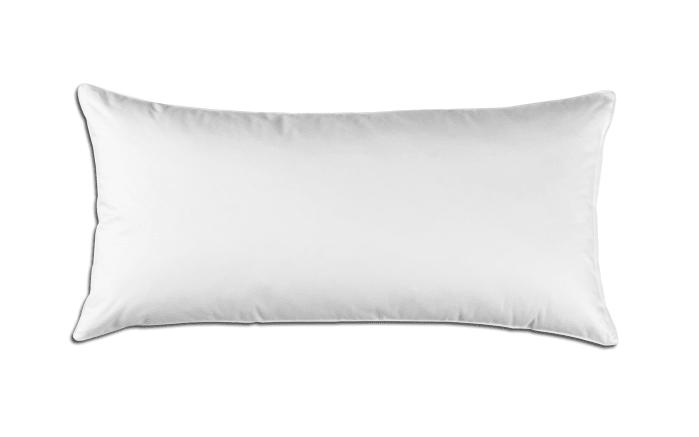 Kissen Texas in weiß, 40 x 80 cm