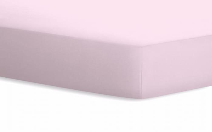 Spannbetttuch Jersey in rosa, 90 x 190 x 20 cm