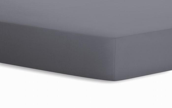 Spannbetttuch Jersey in graphit, 100 x 200 cm