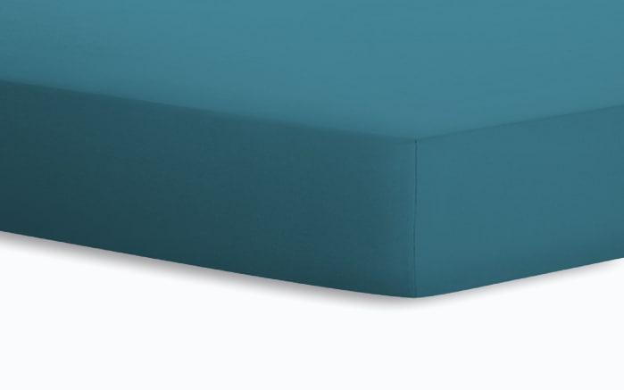Spannbetttuch Jersey in riviera, 90 x 190 x 20 cm