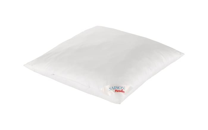 Kopfkissen Softy Juwel in weiß 80 x 80 cm