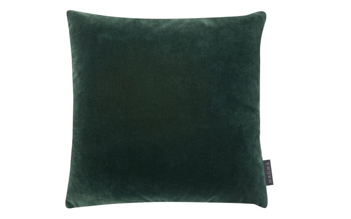 Kissen Samt in grün, 40 x 40 cm