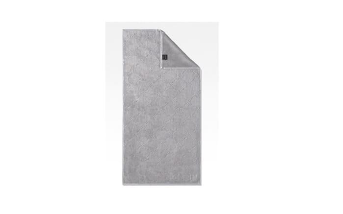 Handtuch JOOP! Uni Cornflower in platin, 50 x 100 cm