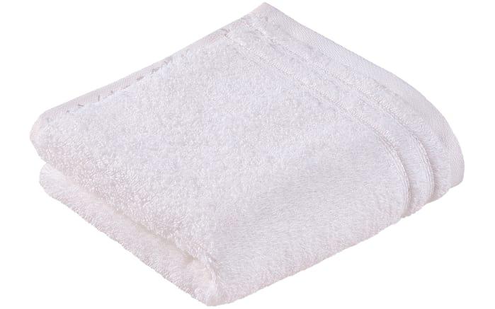 Gästetuch Calypso Feeling in weiß, 30 x 50 cm